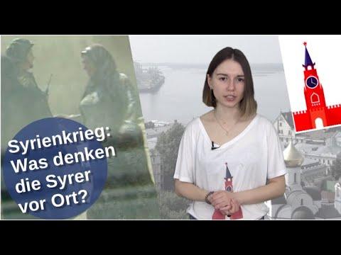 Syrienkrieg: Wie denken die Syrer vor Ort? [Video]