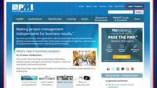 How To Create Profile on PMI.ORG