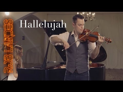 Hallelujah Played on the Violin and Piano