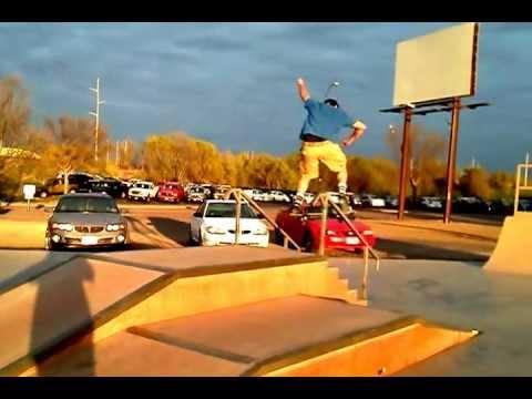 Skateboarding in Mitchell sd # 2