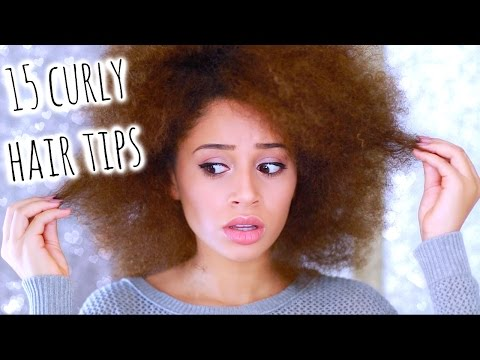 15 Curly Hair Tips You NEED To Know