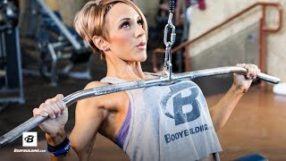 IFBB Pro Jessie Hilgenberg's Strong Back Workout by Bodybuilding.com
