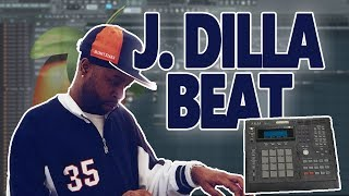 How To Make A BOUNCY J  Dilla Type Beat From Scratch In FL Studio - Tutorial