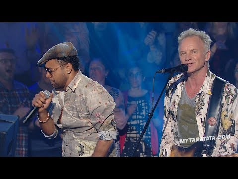"Sting / Shaggy ""Message In A Bottle"" (The Police) (2018)"
