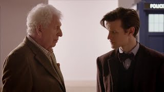 The Eleventh Doctor Meets The Curator (Tom Baker)