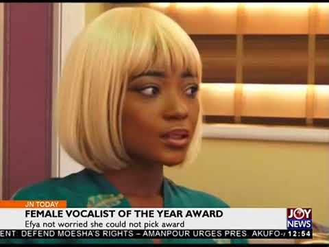 Female Vocalist of the Year Award - Joy Entertainment Today (18-4-18)