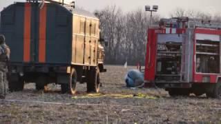 Под Краматорском упал военный вертолет
