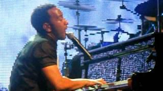 """John Legend - """"Refuge (When it's cold outside)"""" (LIVE)"""