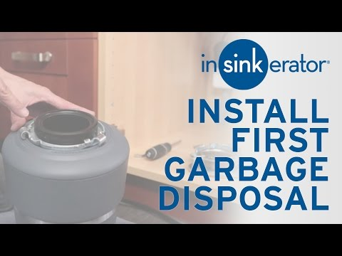 How To: Install First Garbage Disposal