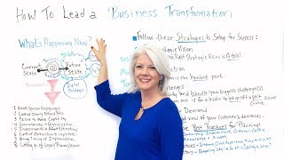 How to Lead a Business Transformation - Project Management Training