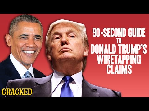 90-Second Guide To Donald Trump's Wiretapping Claim