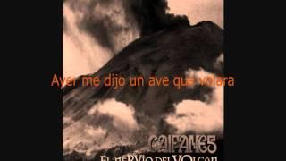 Ayer Me Dijo Un Ave (letra) Caifanes