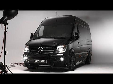 The Hartmann Vansports SP Camper based on the Mercedes Sprinter
