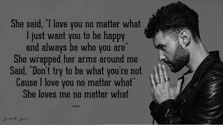 No Matter What   Calum Scott (Lyrics)
