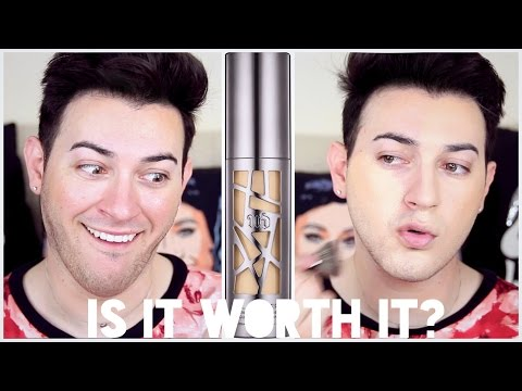 Urban Decay All Nighter Foundation Review and Demo | Is It Worth it? | MannyMua