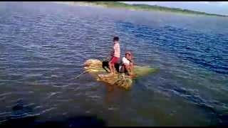 preview picture of video 'Jamuna river Sirajgonj by ZAHID'