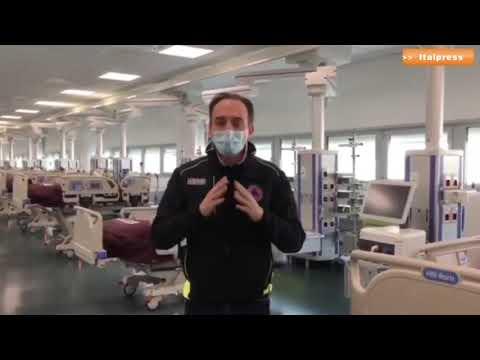 PIEMONTE APRE IL NUOVO OSPEDALE COVID 19 DI VERDUNO