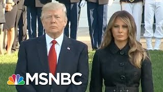President Donald Trump And The First Lady Lead Moment Of Silence | Morning Joe | MSNBC