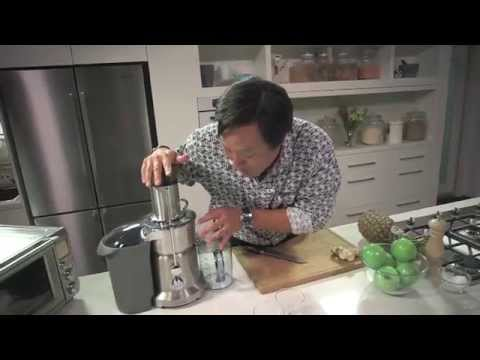 Video Breville Presents Simply Ming Ginger Apple-Pineapple Juice Recipe