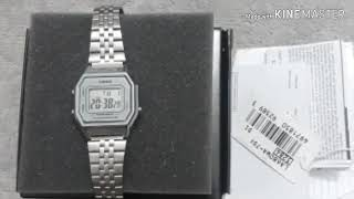 Relógio Casio La680wa-7df Vintage Pequeno