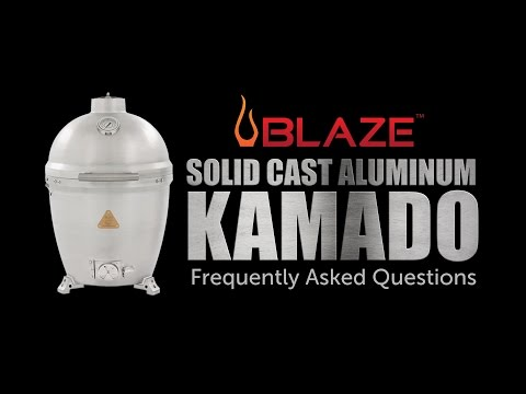 Blaze Aluminum Kamado Frequently Asked Questions