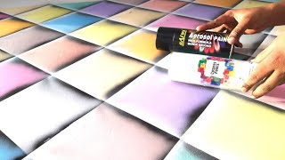 Wall Painting Ideas For Color's Full 3D Patterns