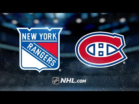 Danault's four-point game leads Habs past Rangers