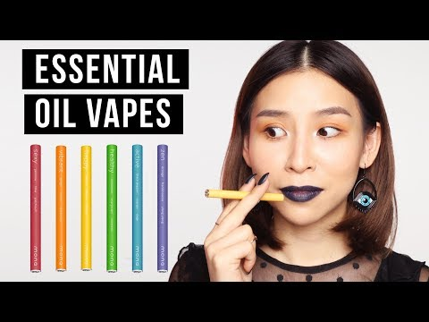 Testing Out Essential Oil Vapes - TINA TRIES IT