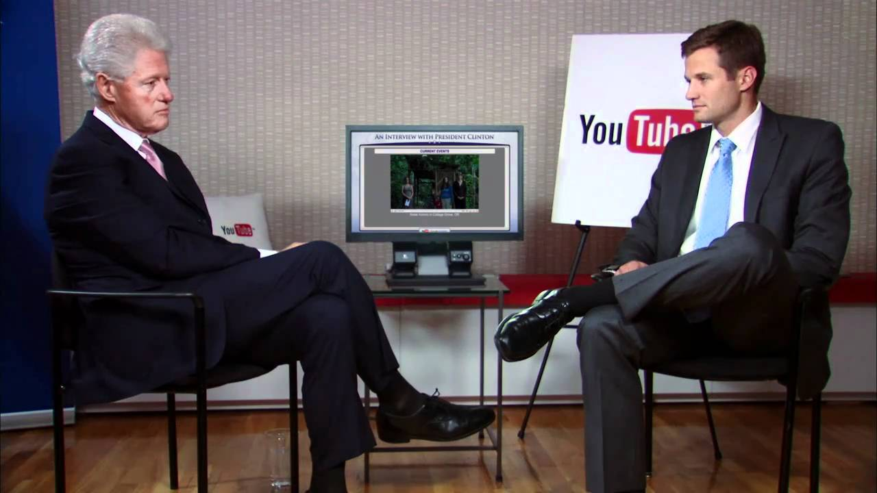 YouTube Interview with President Clinton