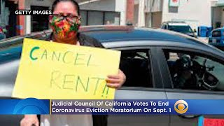Calif. Judges Vote To End Coronavirus Eviction Moratorium On Sept. 1