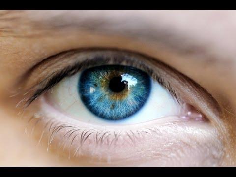 Глаз центральное зрение