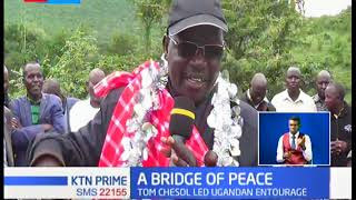 Bridge built between the Pokot in Kenya and communities in Uganda