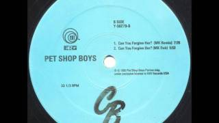 Pet Shop Boys - Can You Forgive Her? (MK Remix)