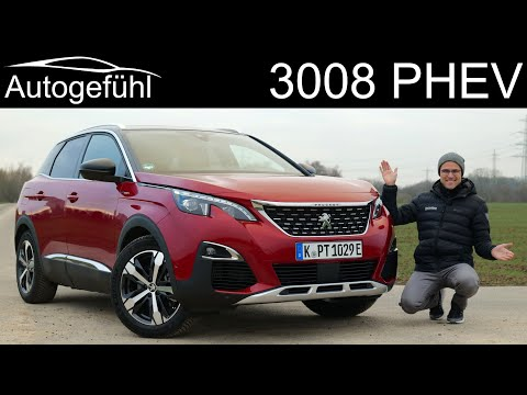 Peugeot 3008 Hybrid4 PHEV AWD FULL REVIEW new 300 hp e-EAT8 2020