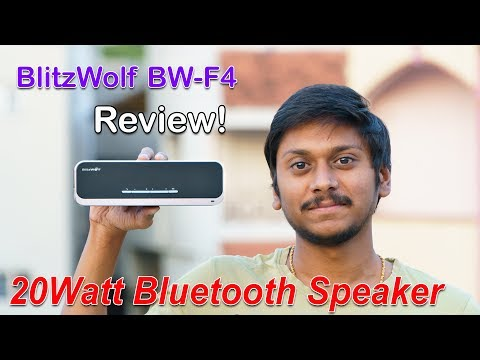 BlitzWolf BW-F4 Bluetooth Speaker Real Review from Banggood