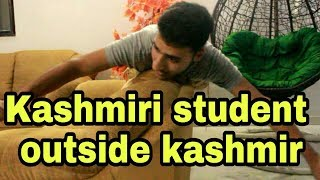 Kashmiri student's outside kashmir funny video