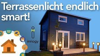 Terrassenlicht endlich Smart - innogy Smarthome im Test! | verdrahtet.info [4K]