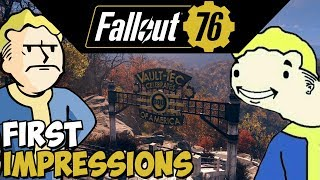 Fallout 76 (PC) First Impressions