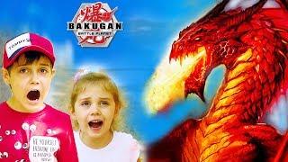 Что Произошло С Детьми В Запрещенном Месте? 1 серия Бакуган Батл Планет / Bakugan Battle Planet