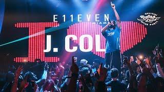 J Cole  Wiz Khalifa  AAP ROCKY at E11EVEN MIAMI