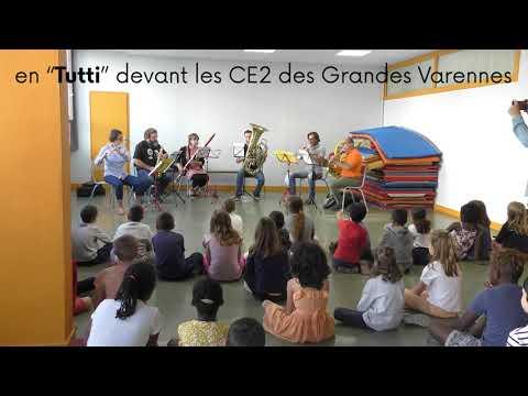 Nos autres dispositifs : Ecole & Orchestre / Music'Up