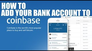 How To Add Your Bank Account To Coinbase Crypto Exchange