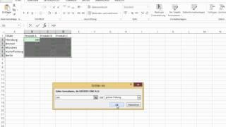 Excel 2013 - Daten schnell und einfach auswerten
