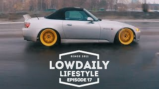 BURNOUT, STRUNOUT, SNOWOUT и ДР. ДОСТАВКА HONDA S2000, АФИША LOWDAILY 5 YEARS. EP17.