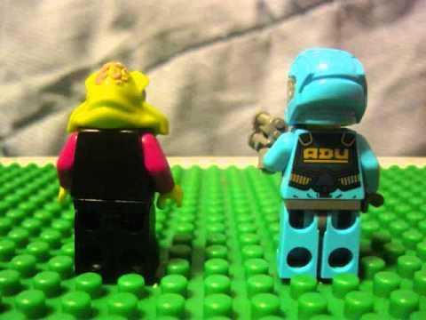 Vidéo LEGO Alien Conquest 7049 : Le tireur d'élite alien