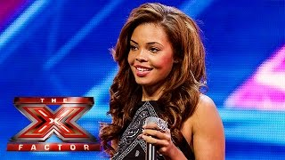 Stephanie Nala sings Baby D's Let Me Be Your Fantasy | Arena Auditions Wk 2 | The X Factor UK 2014