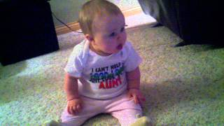 Baby sings chipmunk achy breaky heart