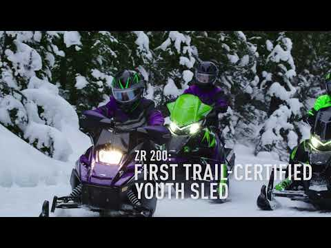 2019 Arctic Cat ZR 200 ES in Ebensburg, Pennsylvania - Video 1