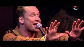 Handsome Poets Sky On Fire  Live @ OS2012 (sportzomer) HD