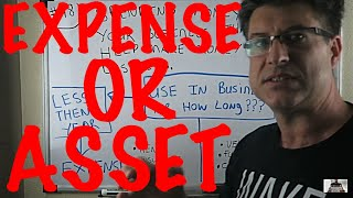 Accounting for Beginners #98 / IS IT AN ASSET OR EXPENSE / DEPRECIATION EXPENSE / ACCOUNTING